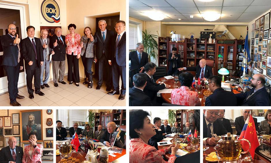 Китайская делегация нанесла визит в ВОК, чтобы найти в России образцы лучшего опыта управления качеством продукции и услуг