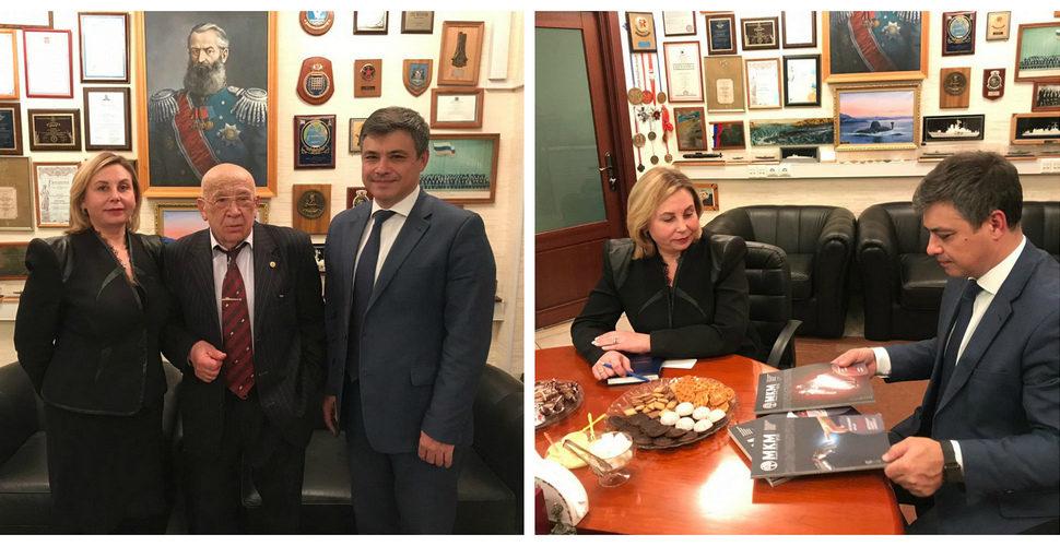 Председатель Комитета Госдумы по охране здоровья Дмитрий Морозов нанес визит в ВОК